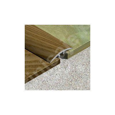Trecere / prag Prolux lisa ingusta din aluminiu folio imitatie lemn - PLF309