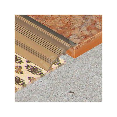 Trecere Prolux ingusta cu striatii din aluminiu eloxat - PSA308