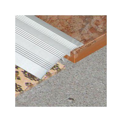 Trecere Prolux lata cu striatii din aluminiu eloxat - PSA417