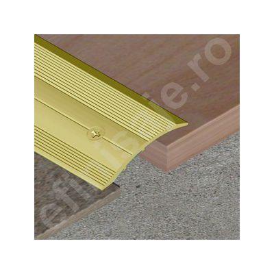 Trecere Prolux lata pentru diferenta de nivel din aluminiu eloxat - PSD408