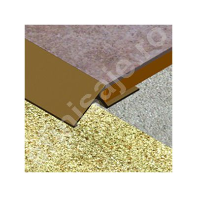 Rampa Prolux lisa din aluminiu eloxat - RLA129