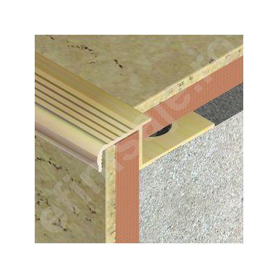 Protectie XLine pentru trepte ceramice din alama regala - BTC127
