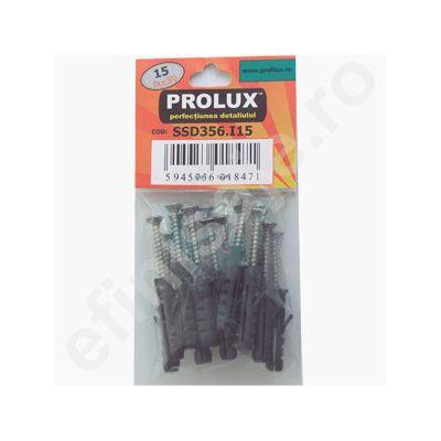 Set Prolux 15 buc. holzsuruburi din inox - SSD356. I15