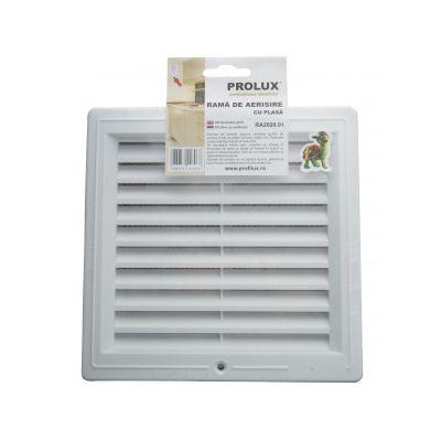 Rama de aerisire Prolux cu plasa din PVC - RA2020