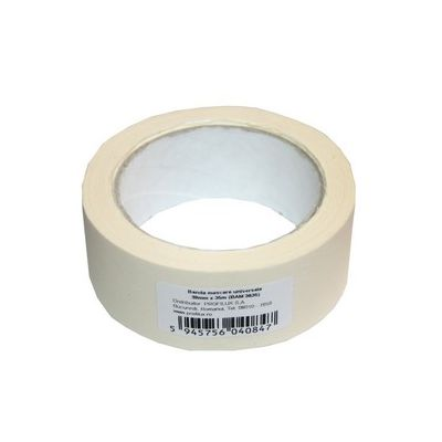 Banda adeziva de mascare Prolux scotch hartie 38 mm x 35 m - BAM3835