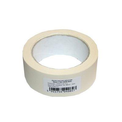 Banda adeziva de mascare Prolux scotch hartie 38 mm x 35 m - BAM3835