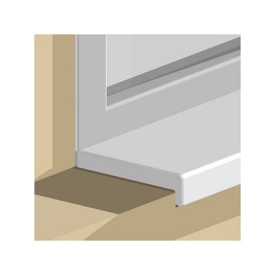 Terminatie Prolux dubla din PVC pentru glaf GIS - GIC60