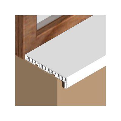 Glaf Prolux interior din PVC infoliat alb - GIS203