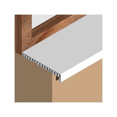 Glaf Prolux interior din PVC infoliat alb - GIS253