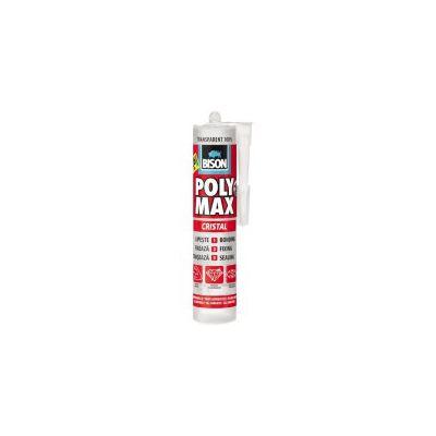 BISON Poly Max transparent MS polimer 300g - PM300