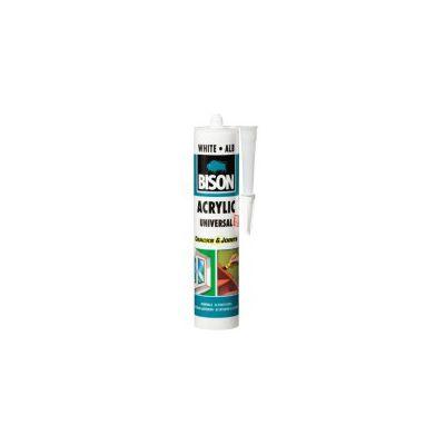 BISON Acrylic alb 300ml - SA300