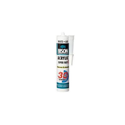 BISON Acrylic ultra rapid 30 min alb 300ml - SAR300