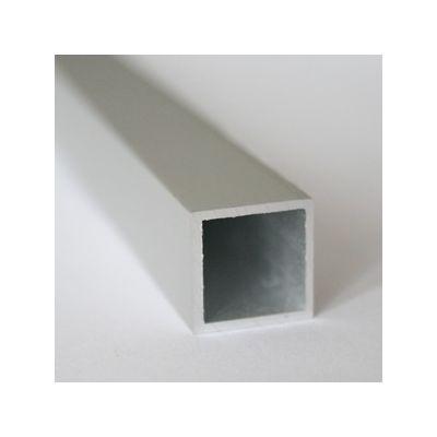 Teava patrata din aluminiu 15x15x1 mm 2 m - BPT152