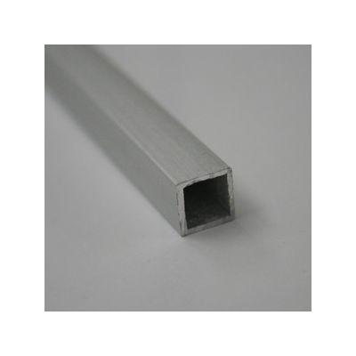 Teava patrata goala din aluminiu 10x10x1 mm 1 m - TPG101