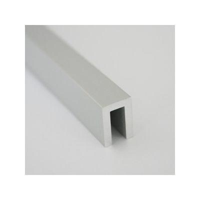 Profil U din aluminiu 8x12x2 mm 1 m - UPA101