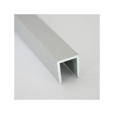 Profil U din aluminiu 12x13, 5x1, 3 mm 1 m - UPA131