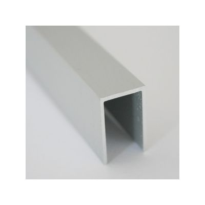 Profil U din aluminiu 12, 5x20x1 mm 1 m - UPA221