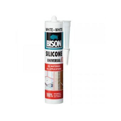 BISON Silicon universal alb 280ml - SU280
