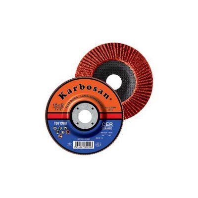 Disc lamelar conic cu granula ceramica 115 x 22 granulatie 80