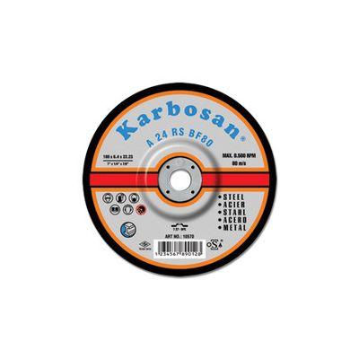 Disc pentru polizare metal 125 x 6. 4 x 22