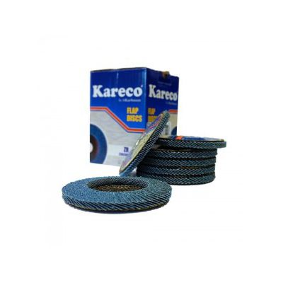 Disc lamelar conic Kareco 125 x 22 granulatie 80