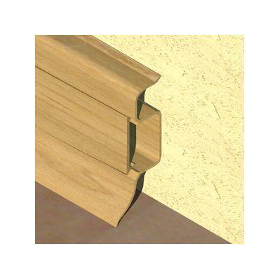 Plinta PVC Prolux pentru cabluri 50 x 22 mm culoare stejar deschis - PBC505