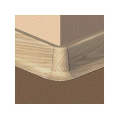 Set 4 buc. piese Prolux imbinare colt exterior culoare fag deschis pentru plinta parchet PBC505 - PBE505. 156-S4