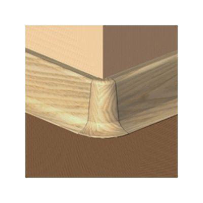 Set 4 buc. piese Prolux imbinare colt exterior culoare stejar pentru plinta parchet PBC505 - PBE505. 40-S4