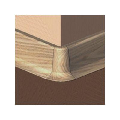 Set 4 buc. piese Prolux imbinare colt exterior culoare stejar deschis pentru plinta parchet PBC505 - PBE505. 66-S4