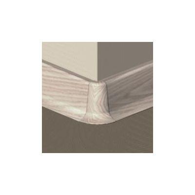 Set 4 buc. piese Lineco imbinare colt exterior culoare artar alb pentru plinta parchet PBC605 - PBE605. 153-S4