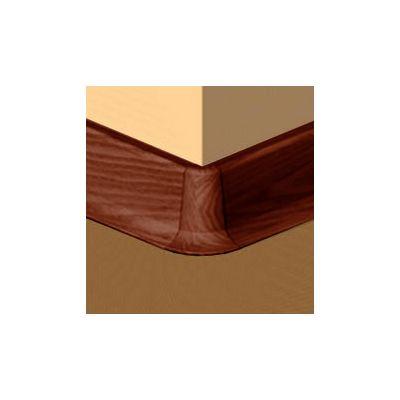 Set 4 buc. piese Lineco imbinare colt exterior culoare palisandru pentru plinta parchet PBC605 - PBE605. 173-S4