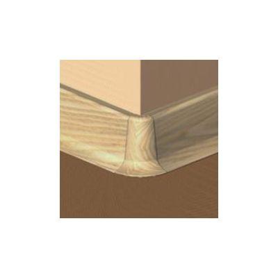 Set 4 buc. piese Lineco imbinare colt exterior culoare stejar pentru plinta parchet PBC605 - PBE605. 40-S4