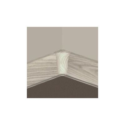 Set 4 buc. piese Lineco imbinare colt interior culoare artar alb pentru plinta parchet PBC605 - PBY605. 153-S4