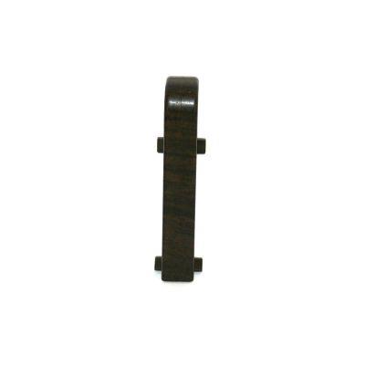 Set 2 buc. conectori pentru plinta MDF culoare lemn maroniu de esenta tare