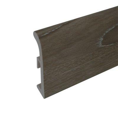 Plinta din polimer 80 mm stejar siberian