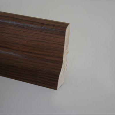 Plinta din lemn 22x60x2400 mm Karelia Walnut