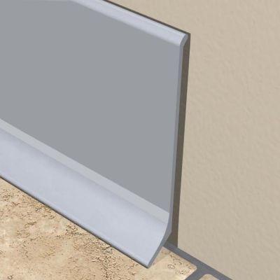 Plinta X-LINE din aluminiu eloxat 80 x 10 mm - KAP800. 81