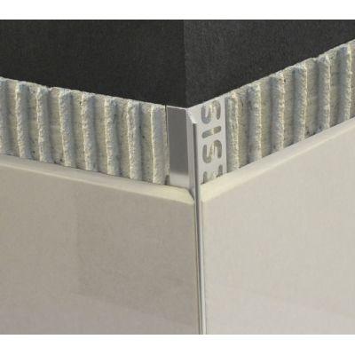 Bagheta minimalista din aluminiu ptentru colt exterior, A=10mm, L=2, 5m - EAD100