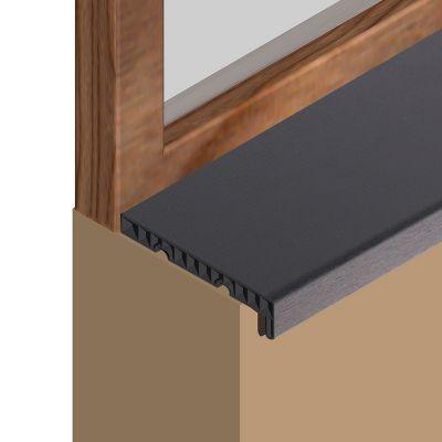 Glaf Prolux interior din PVC infoliat gri antracit - GIS153