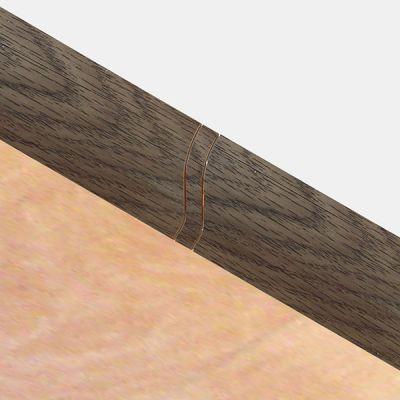 Set 4 buc. piese Lineco imbinare mijloc culoare stejar olive pentru plinta parchet PBC605 - PBL605. 120-S4