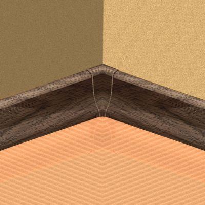 Set 4 buc. piese Lineco imbinare colt interior culoare stejar olive pentru plinta parchet PBC605 - PBY605. 120-S4