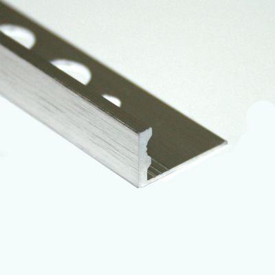 Bagheta dreapta muchii exterioare din aluminiu eloxat periat / satinat / negru mat - ESA100