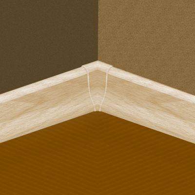Set 4 buc. piese Lineco imbinare colt interior culoare frasin deschis pentru plinta parchet PBC605 - PBY605. 122-S4