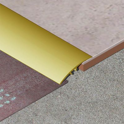 Trecere Prolux lata lisa din aluminiu eloxat - PLA418