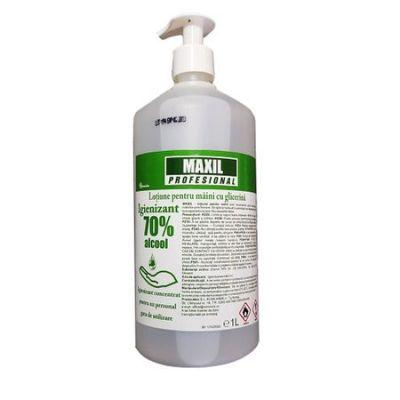 Gel dezinfectant pentru maini, cu glicerina, 1L - GIM. 1