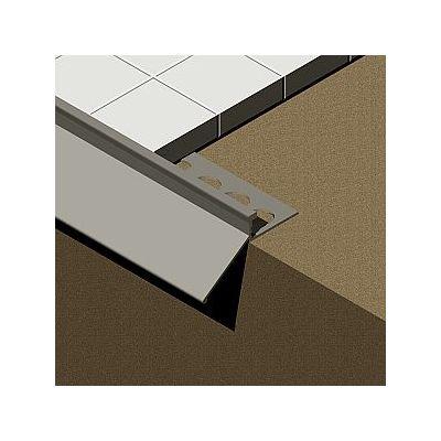 Profil picurator pentru terasa, din aluminiu eloxat - LST085
