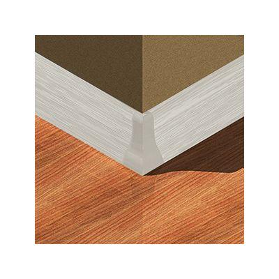 Set 4 buc. piese Lineco imbinare colt exterior culoare frasin crem pentru plinta parchet PBC605 - PBE605. 125-S4