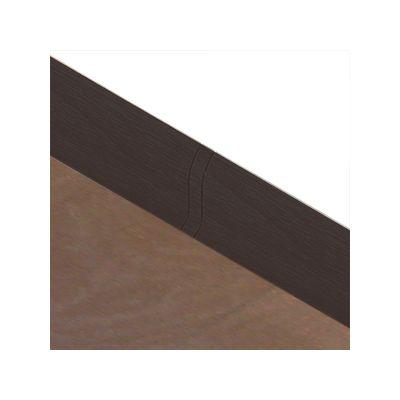 Set 4 buc. piese Lineco imbinare mijloc culoare stejar negru pentru plinta parchet PBC605 - PBL605. 129-S4