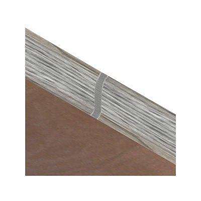 Set 4 buc. piese Lineco imbinare mijloc culoare gri lemnos pentru plinta parchet PBC605 - PBL605. 211-S4