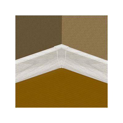 Set 4 buc. piese Lineco imbinare colt interior culoare frasin crem pentru plinta parchet PBC605 - PBY605. 125-S4